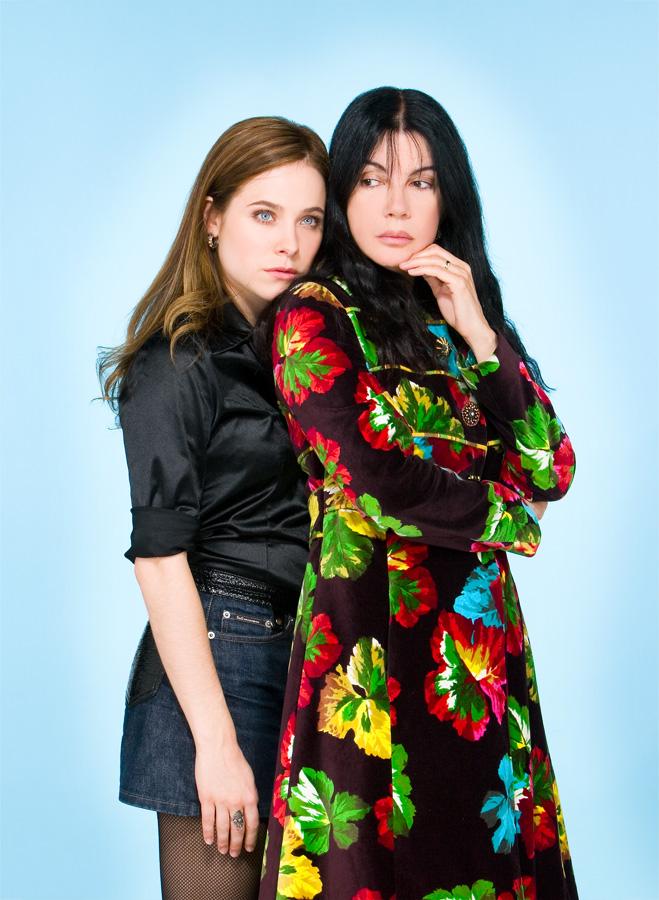 Journal Voir - Carole Laure et Caroline Dhavernas pour le film La belle bête