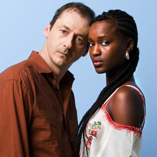 Journal Voir - Luc Picard et Fati N'Diaye pour le film Un dimanche à Kigali