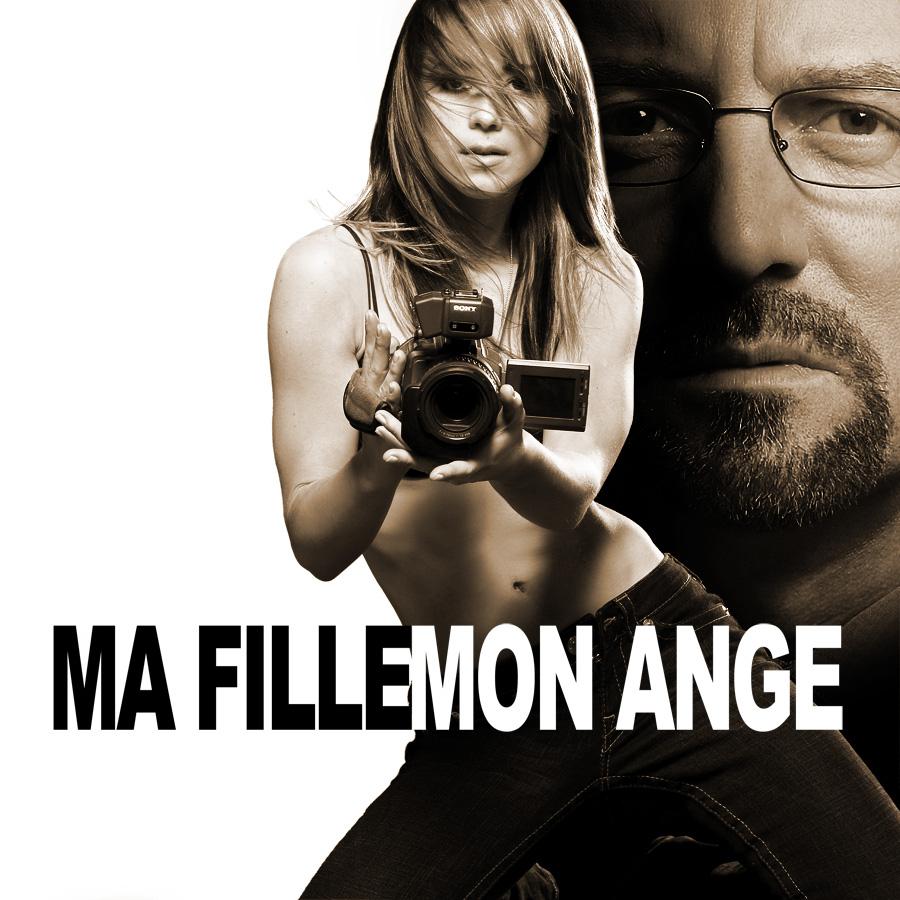 Affiche du film Ma fille, mon ange avec Karine Vanasse et Michel Coté