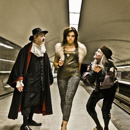Affiche pour la pièce de théâtre Variations sur Molière – Troupe des Exclamateurs