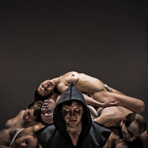 Affiche pour la pièce de théâtre Caligula – Troupe des Exclamateurs