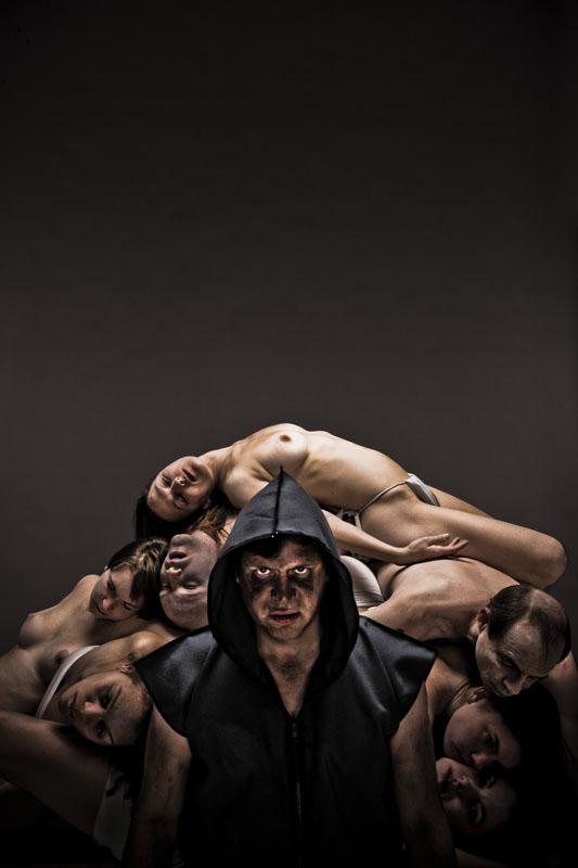 Affiche pour la pièce de théâtre Caligula – Les Exclamateurs