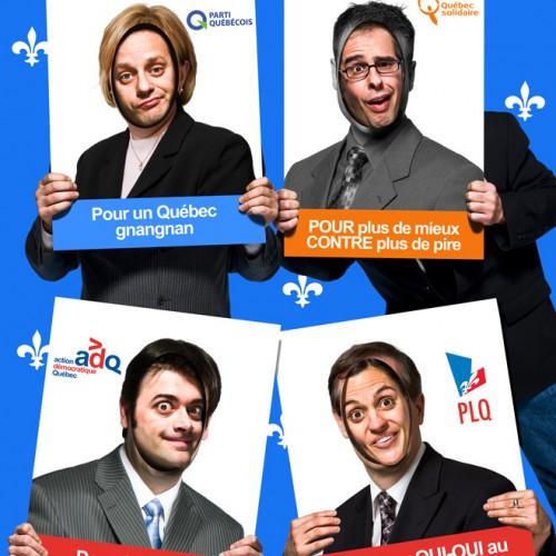 Journal Voir - Les Zapartistes - Humoristes