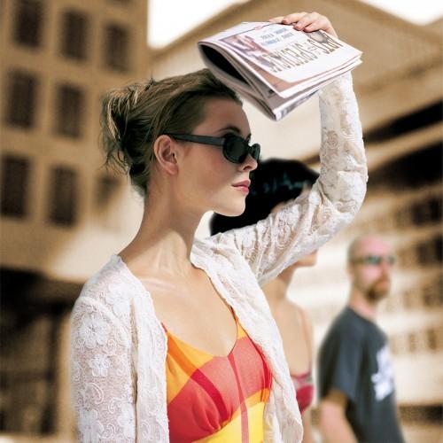 Agence Cossette - Publicité pour le cahier Art et Spectacle de La Presse