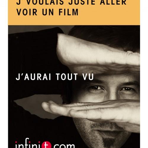 Publicité pour InfiniT.com - DA: Michèle Peticlerc
