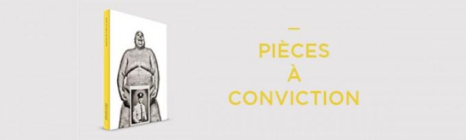 Mon livre «Pièces à conviction» vous appartient désormais !
