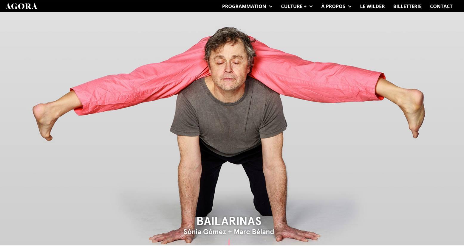 Bailarinas - Sonia Gomez et Marc Béland